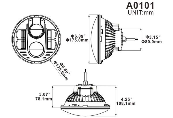 automotive led light a0101